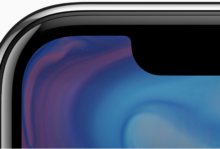 iPhone X Curved Screen and Notch